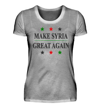 Make Syria Great Again - Ladys