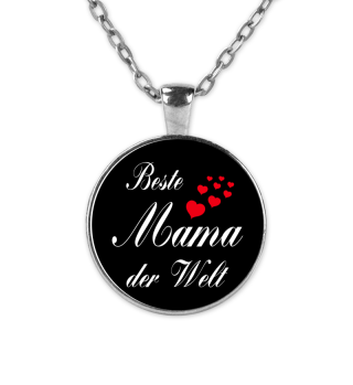 Beste Mama der Welt - Kette - Geschenk