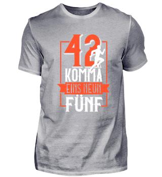 42 Komma Eins Neun Fünf - Marathon