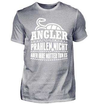 Angel Angler Shirt Prahlen Nicht