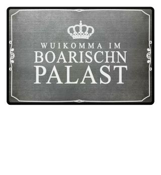 Fußmatte Bayern - Willkommen im Palast