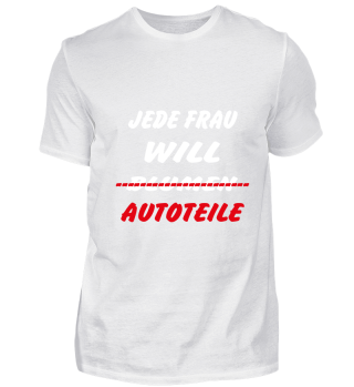 LIMITED EDITION JEDE FRAU WILL AUTOTEILE