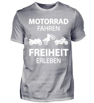 Motorrad fahren, Freiheit erleben