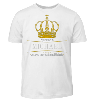 ★ Royal Crown Call me Majesty - gold