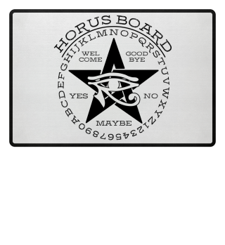 Mystical Pentagram Horus Board - black 2