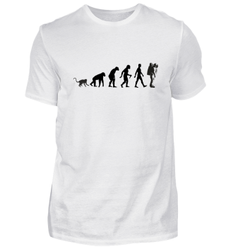 Evolution Of Humans - Astronaut I