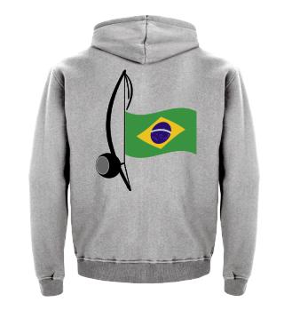 ★ Capoeira Berimbau Brazilian Flag 1