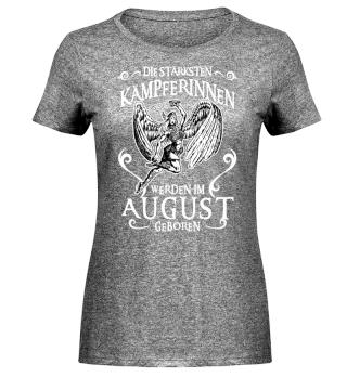 Die Stärksten Kämpferinnen - August