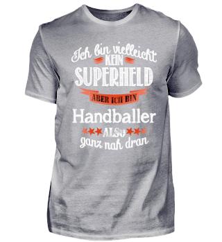 Handball Superheld Geschenk