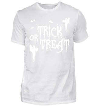 Halloween Trick Treat scary Shirt Gift