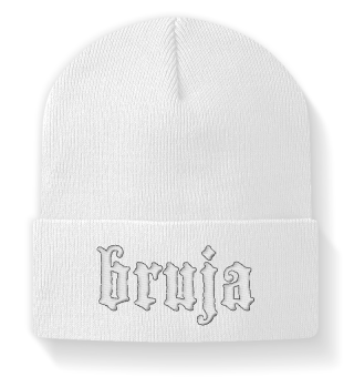 BRUJA Embroidered Beanie
