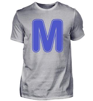 Alphabet - Letter - M