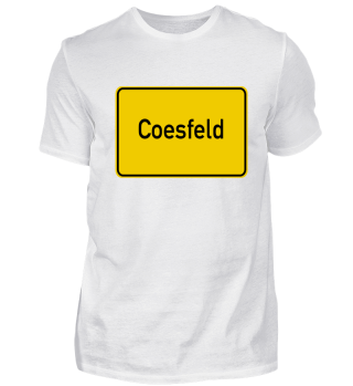 Coesfeld Ortsschild