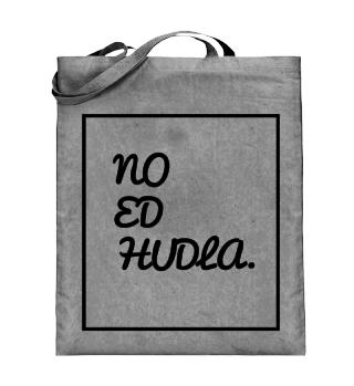 NO ED HUDLA JUTEBEUTEL