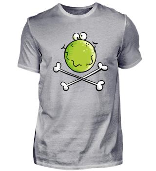 Cooler Pirat Frosch I Seeräuber Frösche
