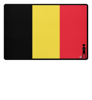 fussballkind - Fussmatte Belgien