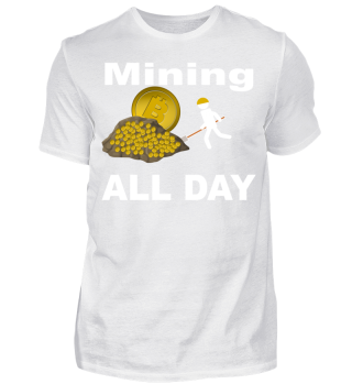 Mining BTC Bitcoin all day - Jeden Tag