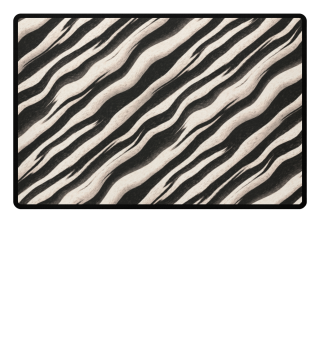 ♥ Zebra Stripes Black Nature