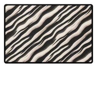 ♥ Zebra Stripes Black Nature
