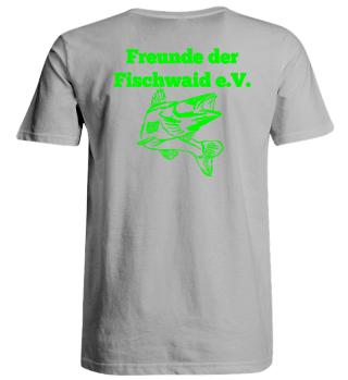T-Shirt Freunde der Fischwaid Übergröße