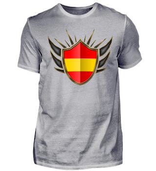 Spanien-Spain Wappen Flagge 014