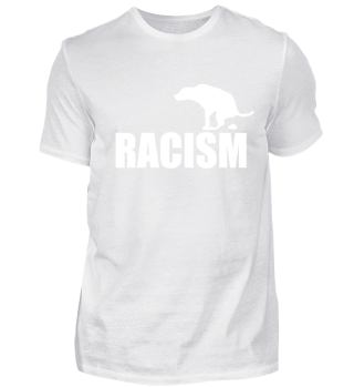 Hate Racism - Dog funny
