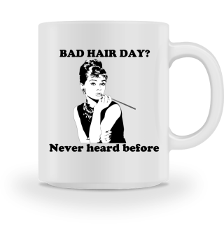 Bad hair day shirt women