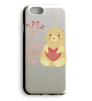 I Love You Bear Case apple