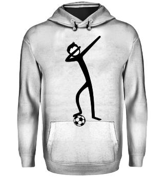 Dabbing Stick Figure - Soccer II