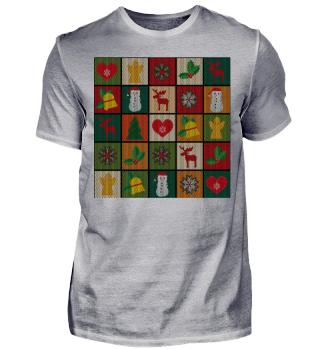 Frohe Weihnachten Ugly Christmas Sweater Geschenk Shirt cool lustig
