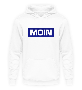 Moin by Baltic Vibes blau Hoodie