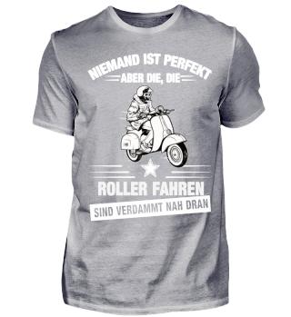 Niemand ist perfekt - Roller Fahrer