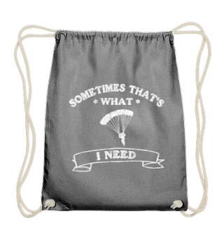 T-shirt skydiver - I love parachuting