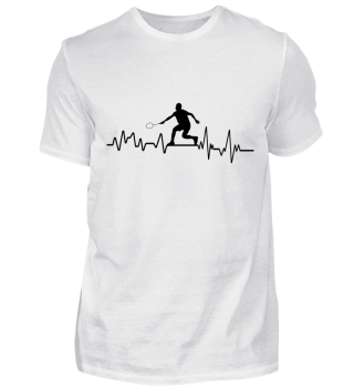 Heartbeat Speedminton - T-Shirt