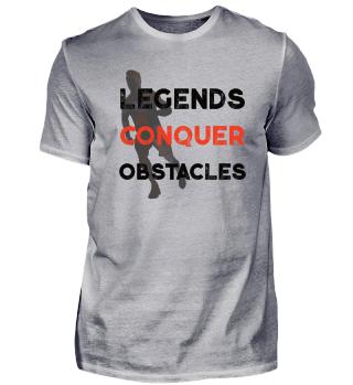 Legends Conquer Obstacle Run Shirt