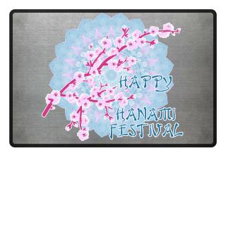 Happy Hanami Cherry Blossoms Mandala 3