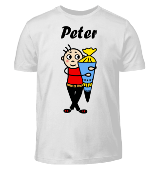 Peter - Einschulung I-Dötzchen