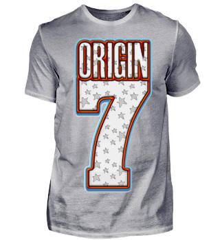 Herren Kurzarm T-Shirt Origin 7 Ramirez