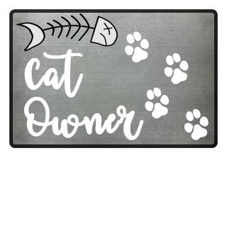 Cat Owner fish home birthday gift love