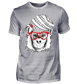 Neu Cooles Shirt AFFE MONKEY