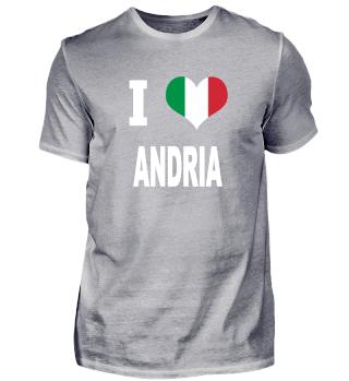 I LOVE - Italy Italien - Andria