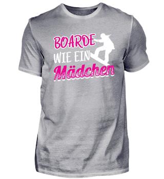 Snowboard Snowboarding Shirt Boarde Wie