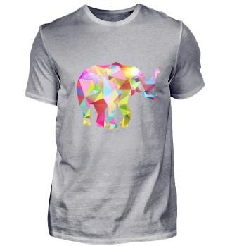 Elefant bunt Diamant