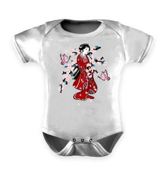 ♥ Cherry Blossom - Geisha Butterfly 2