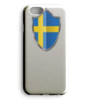 Schweden-Sweden Wappen Flagge 015