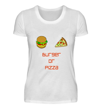 Burger or Pizza Gift
