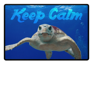 ♥ Photo - Sea Turtle - KEEP CALM