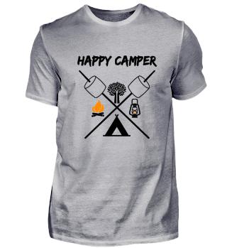 Happy Camper - Camping Apparel
