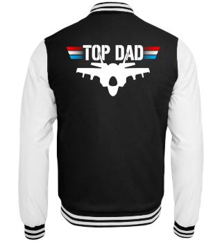 Top Dad Jet Düsenjäger Pilot Jacke