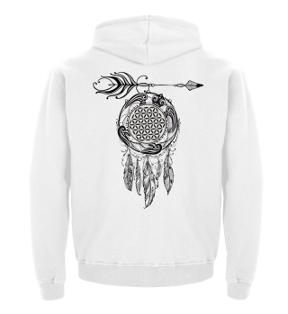 FLOWER OF LIFE Sea Turtle Dreamcatcher 1